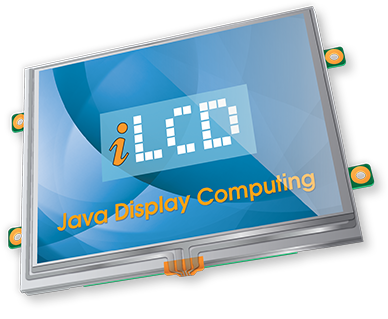 iLCD mit embedded Java Virtual Machine