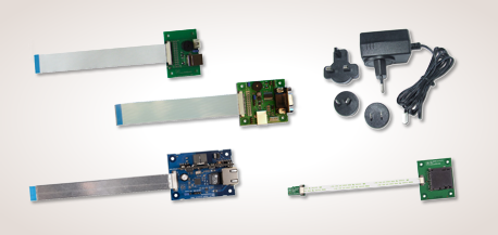 iLCD Accessories - Interface Boards with plugs and FFC Cables and Power Supply